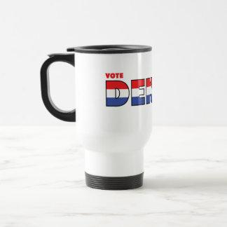 Mug De Voyage Vote Dekker 2010 élections blanc et bleu rouges