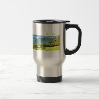 Mug De Voyage Voyage d'Annecy de lac/tasse de banlieusard