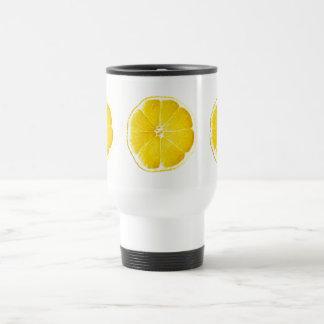 Mug De Voyage Voyage de tranches de citron/tasse de banlieusard