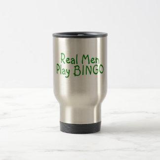 Mug De Voyage Vrai bingo-test 2 de jeu d'hommes