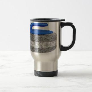 Mug De Voyage Vue de côté de pierre de bordage