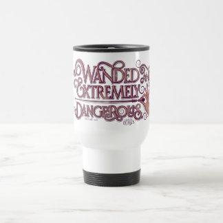 Mug De Voyage Wanded et graphique extrêmement dangereux - rose