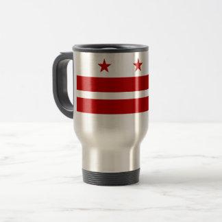 Mug De Voyage Washington, drapeau de C.C