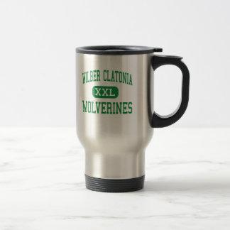 Mug De Voyage Wilber Clatonia - Wolverines - haut - Wilber