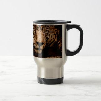 Mug De Voyage yeux de égrappage de l'eau de jaguar