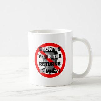 Mug Déclarations d'impôt de Romney