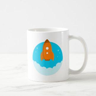 Mug Décollage de bateau de Rocket