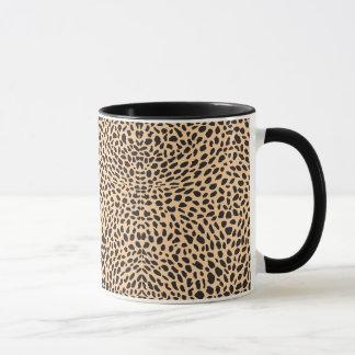 Mug Décor de guépard de peau