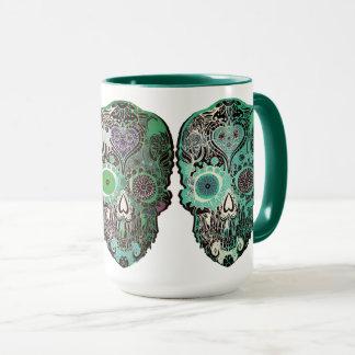 Mug Décoration à la maison de Calavera - la coutume