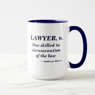 Mug Définition d'avocat