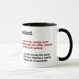 Mug Définition du comptable - alternatif et drôle