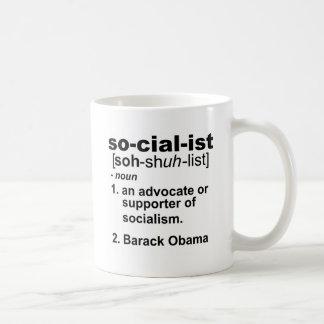 Mug définition socialiste