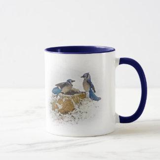 Mug Dégagez - les oiseaux de geai bleu
