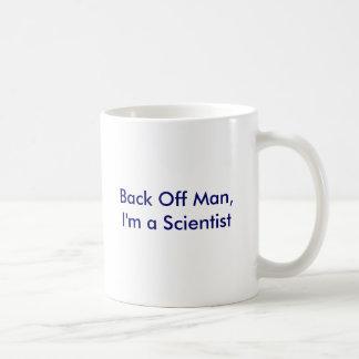 Mug Dégagez l'homme, je suis un scientifique