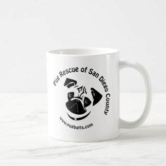 Mug Délivrance de carlin de logo du comté de San Diego