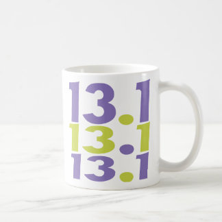 Mug demi de marathon 13,1
