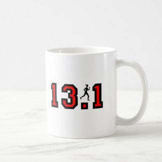 Mug Demi de marathon des femmes