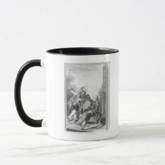Mug Denis Diderot et Melchior, baron de Grimm