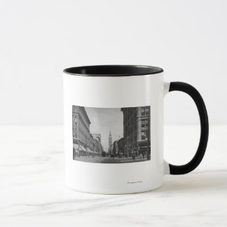 Mug Denver, le Colorado - regardant en bas de la 16ème