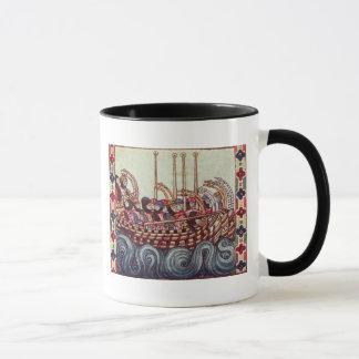 Mug Départ d'un bateau pour les croisades,