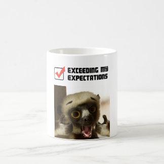 Mug Dépassement de mes attentes