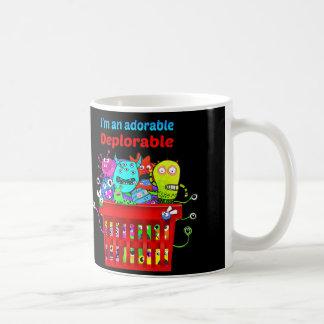 Mug Déplorable adorable, panier de Deplorables