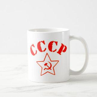 Mug Dépôt rouge russe soviétique de l'Israël d'étoile