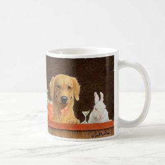 Mug Des Bullas attaquent/lièvres du chien et d'un