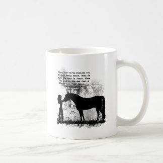 Mug Des chevaux vous êtes aimés