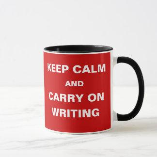 Mug Des idées séchant - gardez le calme pour continuer
