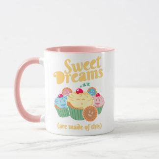 Mug Des rêves doux sont faits de… petits gâteaux et