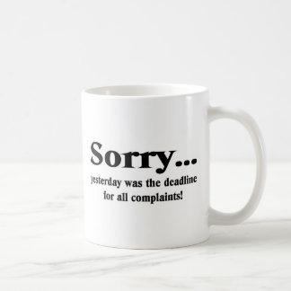 Mug Désolé