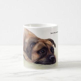 Mug Désolé pour votre cadeau d'animal familier de