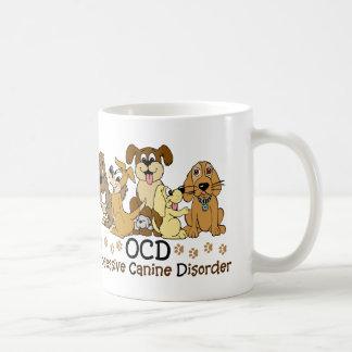 Mug Désordre canin obsédant d'amoureux de les chiens