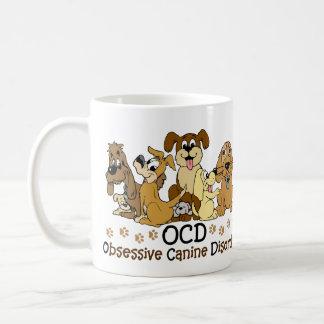 Mug Désordre canin obsédant d'OCD
