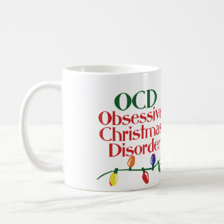 Mug Désordre obsédant de Noël