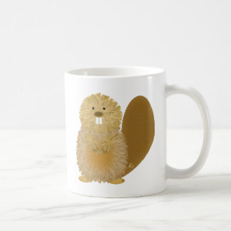 Mug Dessins animaux adorables : Castor