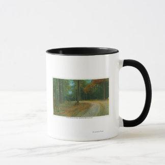Mug Dessus de ravin moyen de champ de bataille de