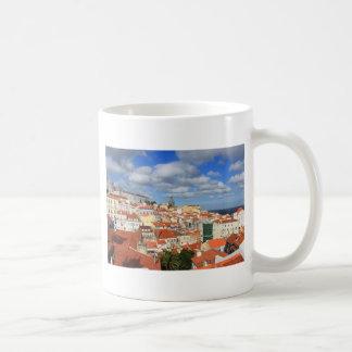 Mug Dessus de toit d'Alfama Lisbonne