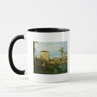 Mug Détail de 'Capriccio avec des motifs de Padua