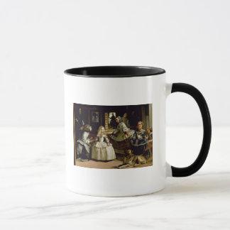 Mug Détail de Las Meninas de la representation de