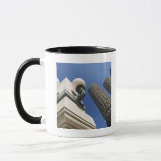 Mug Détail de réverbère aux tours Chicago de ville de