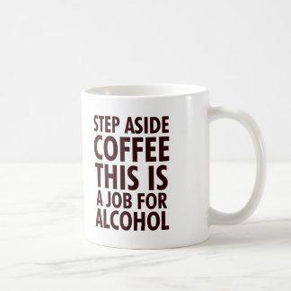 Mug D'étape café de côté