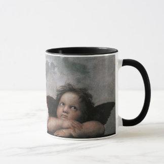 Mug Deux anges, beaux-arts de cru de Raphael