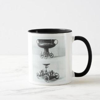 Mug Deux chars votifs pour rassembler l'eau de pluie