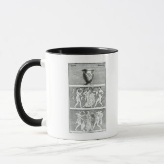 Mug Deux scènes d'un vase à Etruscan