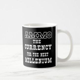 Mug Devise noire de munitions le millénaire prochain
