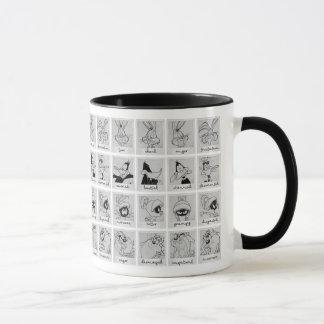 Mug Diagramme LOONEY d'émotion de caractère de TUNES™