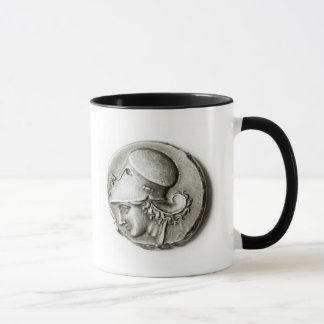 Mug Didrachma de Heracles : Athéna de representation