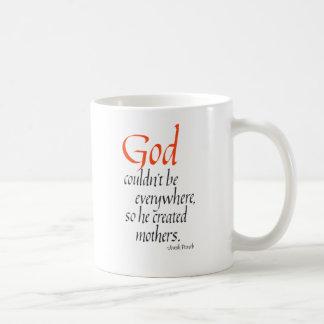 Mug Dieu ne pourrait pas être partout ainsi il a créé